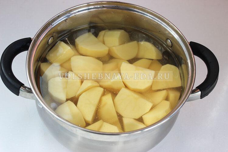 kartofelnoje pure s gribami 1