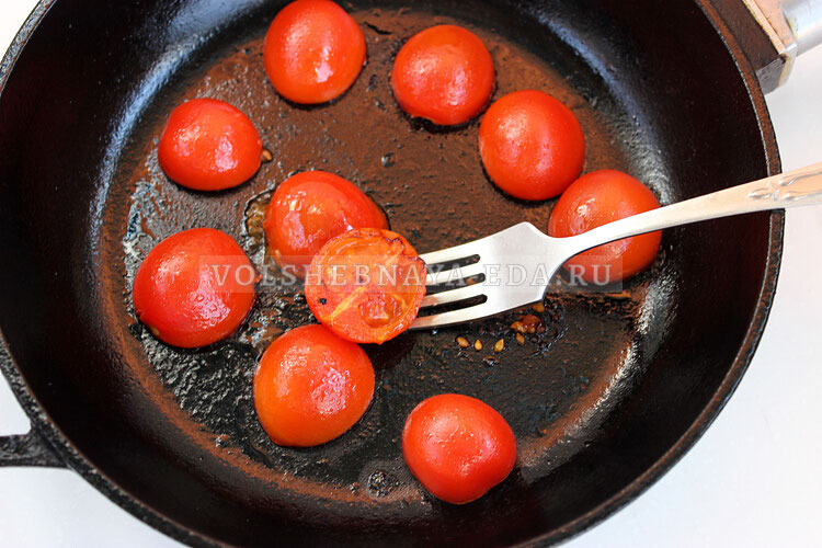 salat s obgarennymi pomidorami 3