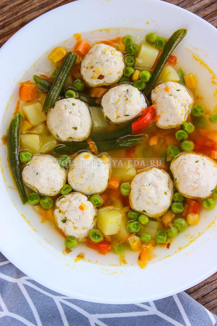 sup s frikadelkami i zamorogennymi ovoschami 10