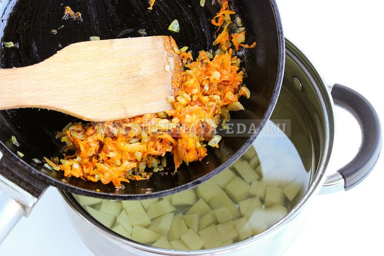 sup s frikadelkami i zamorogennymi ovoschami 4