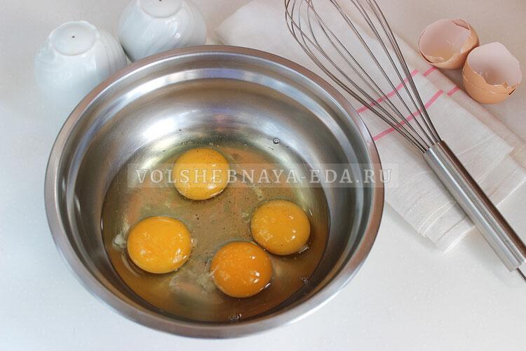 omlet so smetanoj 1