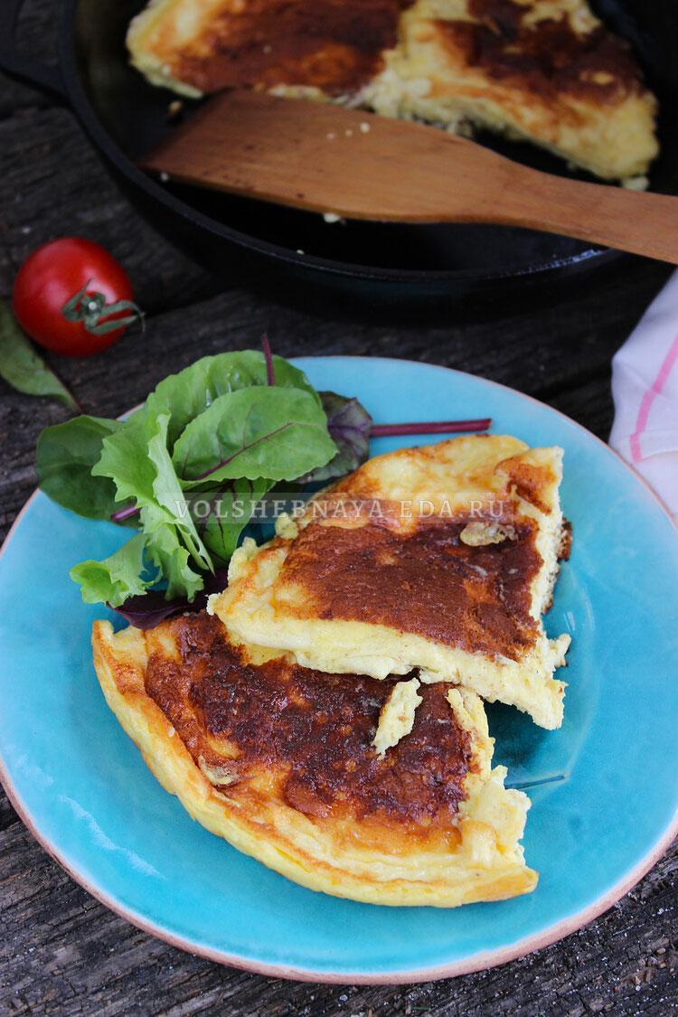 omlet so smetanoj 9