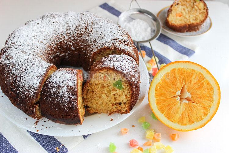 apelsinovy keks s cukatami 9