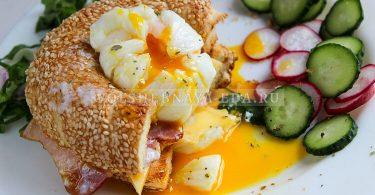 Яйцо пашот в пищевой пленке
