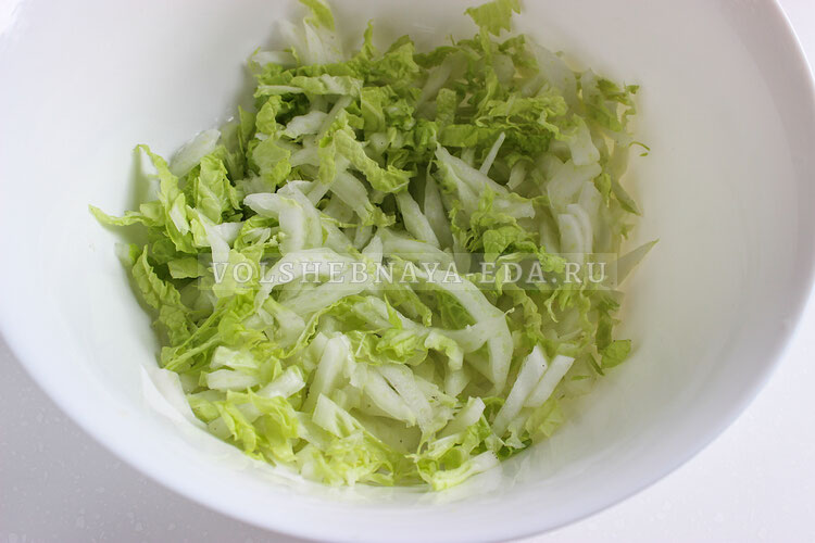 salat s kopchenoj kuricej 2
