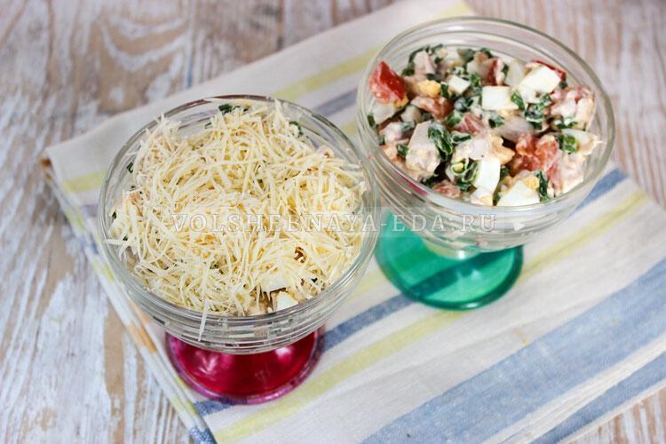 salat s kopchenoj kuricej 6