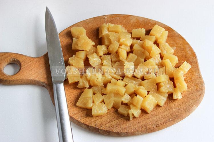tvorogny desert s ananasami 2