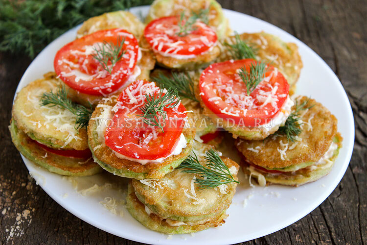 kabachki s pomidorami i syrom 11