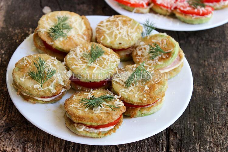 kabachki s pomidorami i syrom 9