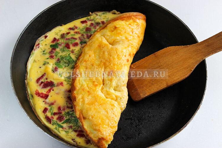 omlet s syrom 8