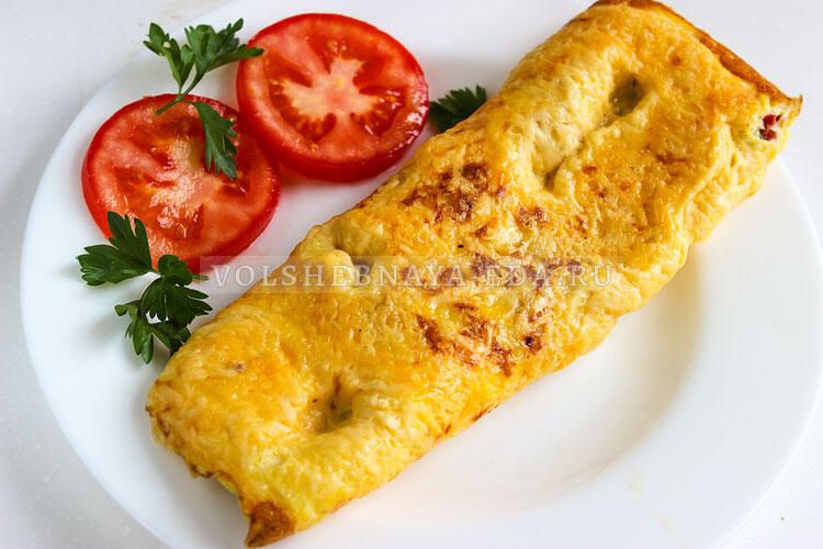 omlet s syrom 9