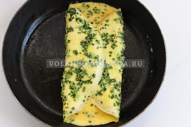omlet s zelenym lukom 6