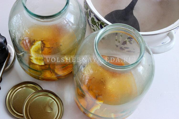 kompot is abricosov i apelsinov 5