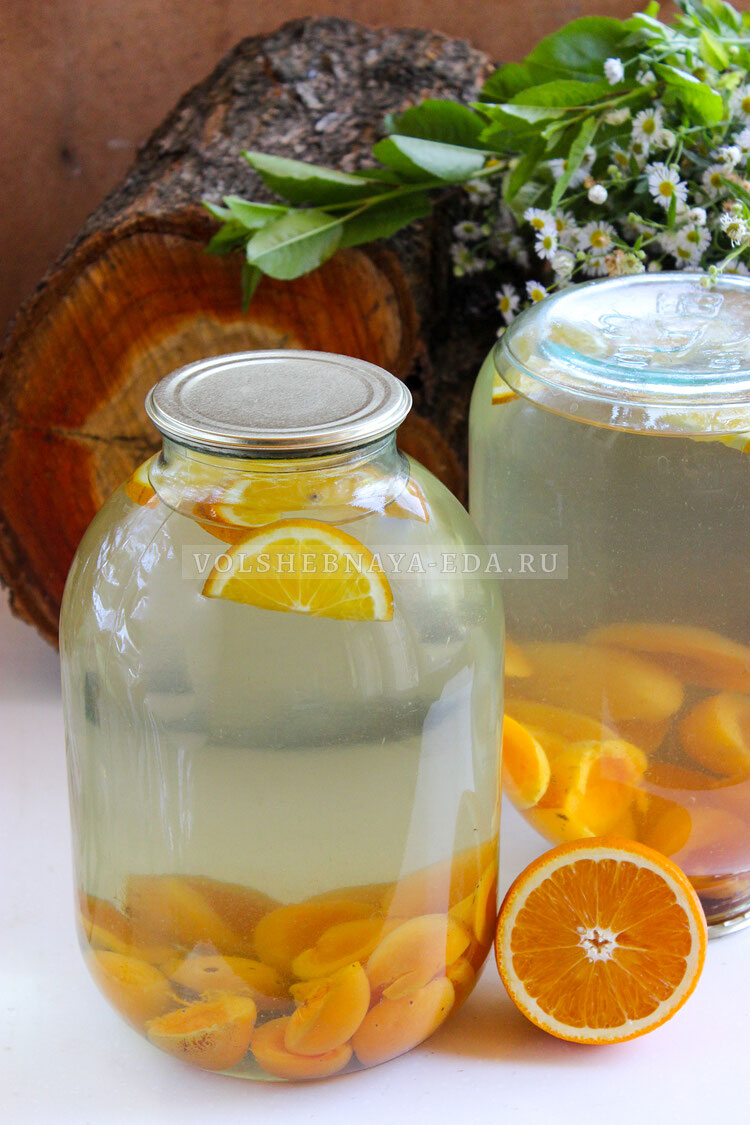 kompot is abricosov i apelsinov 8
