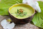 Суп-пюре из цукини с карри
