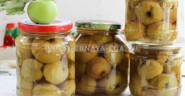 Варенье из целых яблок