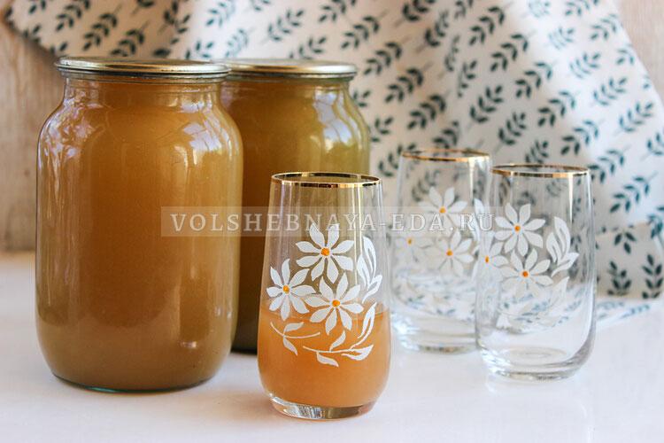 Яблочный сок через соковыжималку