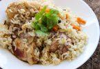 Курица с рисом и барбарисом