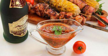 Соус к шашлыку из помидоров