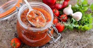 Соус для шашлыка из помидоров и перца