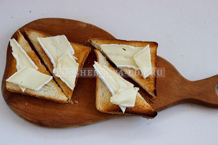 tosty s syrom bri i grushej 2
