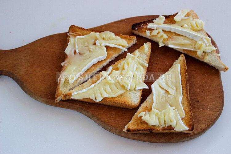tosty s syrom bri i grushej 3