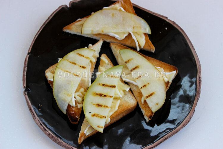 tosty s syrom bri i grushej 6