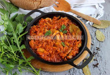Бычки в томатном соусе по-одесски