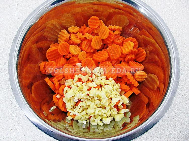 morkov marinovannaya s chesnokom 4