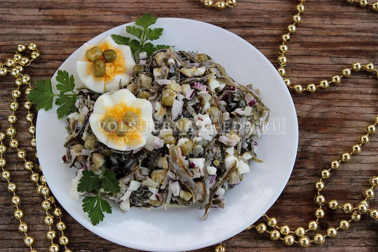 salat s morskoj kapustoj i jajcom 7