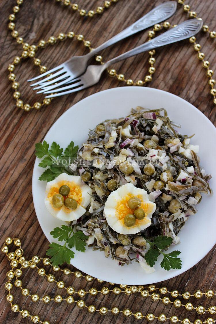 salat s morskoj kapustoj i jajcom 9