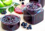 Варенье из зелёных помидоров и черноплодной рябины