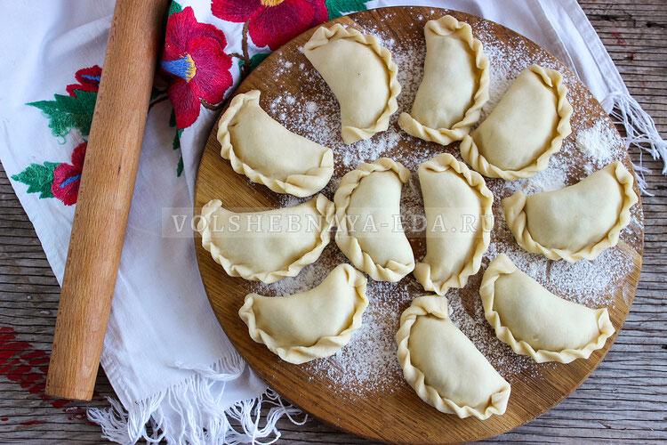 Вареники на картофельном отваре