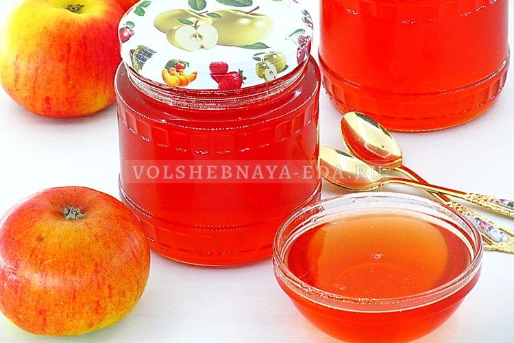 Яблочное желе на зиму