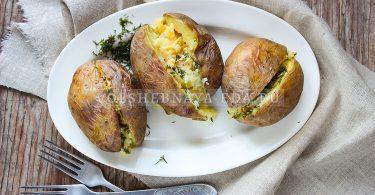 Крошка-картошка дома — рецепт в духовке