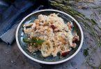Ризотто с морепродуктами и сливками
