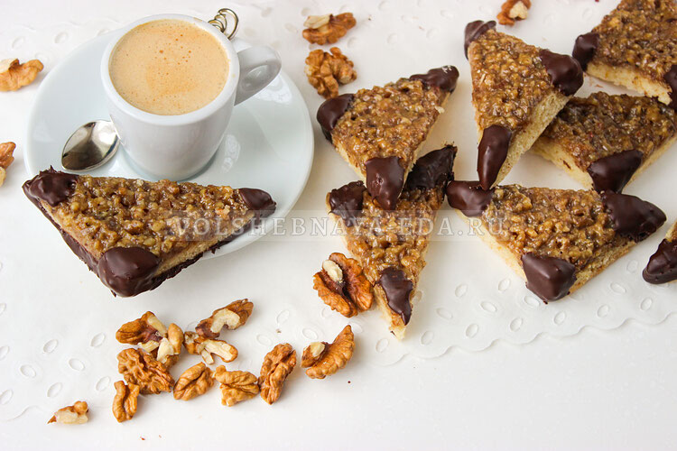 Печенье «Ореховые треугольники»