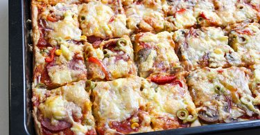 А-ля пицца на кефире