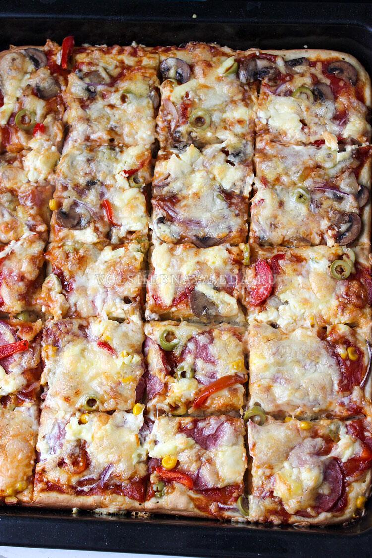 a la pizza na kefire 11
