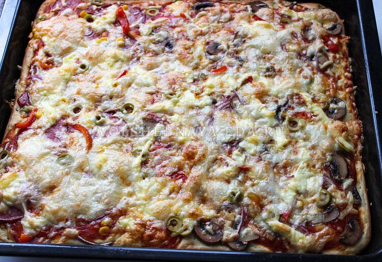 a la pizza na kefire 8