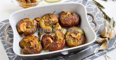 Давленая картошка в духовке