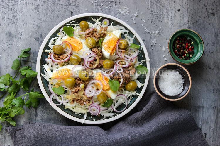 salat s pekinskoj kapustoj i tuncom 7