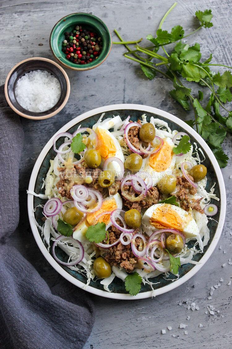salat s pekinskoj kapustoj i tuncom 9