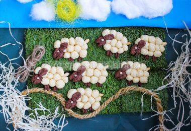 Песочное печенье «Овечки»