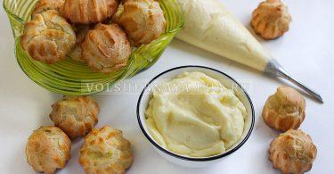 Заварной крем с маслом