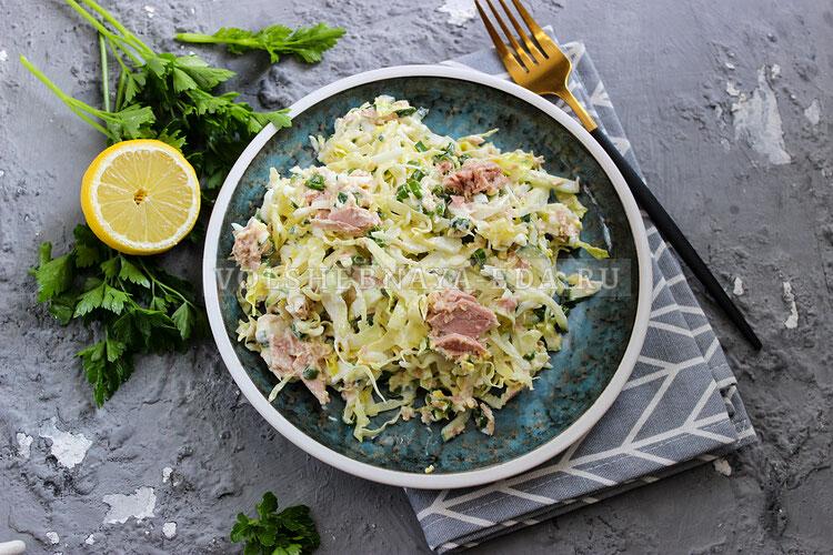 salat is molodoj kapusty s tuncom 9