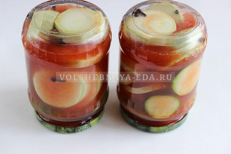 kabachki v ketchupe chili 7