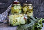Маринованные кабачки на зиму (без маринада)